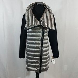 Calvin Klein Jackets & Coats - Calvin Klein Gray Rib Knit Puffer Down Jacket